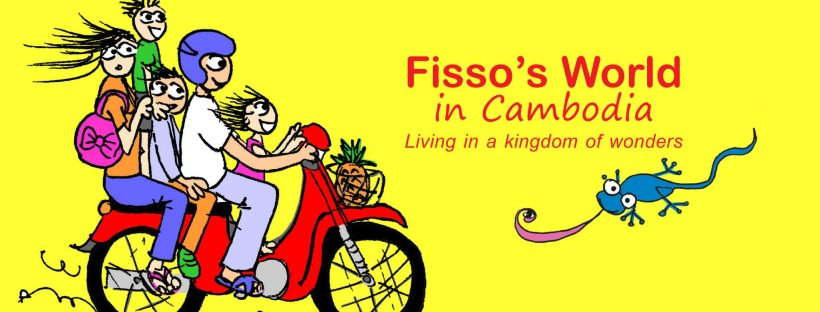 Fissos World in Cambodia cartoons