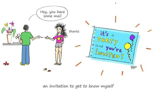 OM my Yoga Cartoon Story Fissos World On Yoga Journey 30