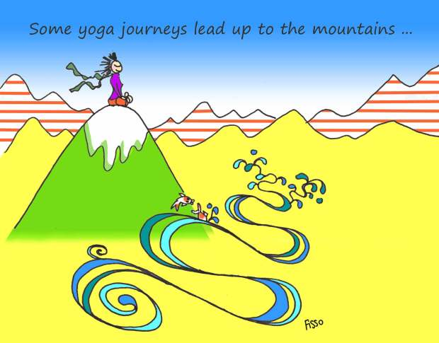 OM my Yoga Cartoon Story Fissos World On Yoga Journey 32