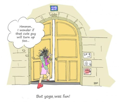 OM my Yoga Cartoon Story Fissos World Yoga Beginnings 6