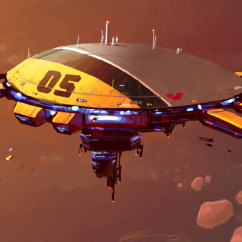 Homeworld 2 Concept Art - Rob Cunningham -Unknown Station