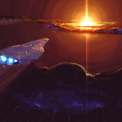 Homeworld 2Concept Art - Rob Cunningham - Unknown Ship