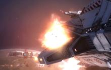 Homeworld Remastered Post Cover - Taiidan Destroyer