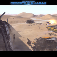 Deserts of Kharak - Screenshot - Carrier Armada Skirmish - BBI