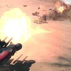Deserts of Kharak - Screenshot -Light Attack Vehicle Skirmish - BBI
