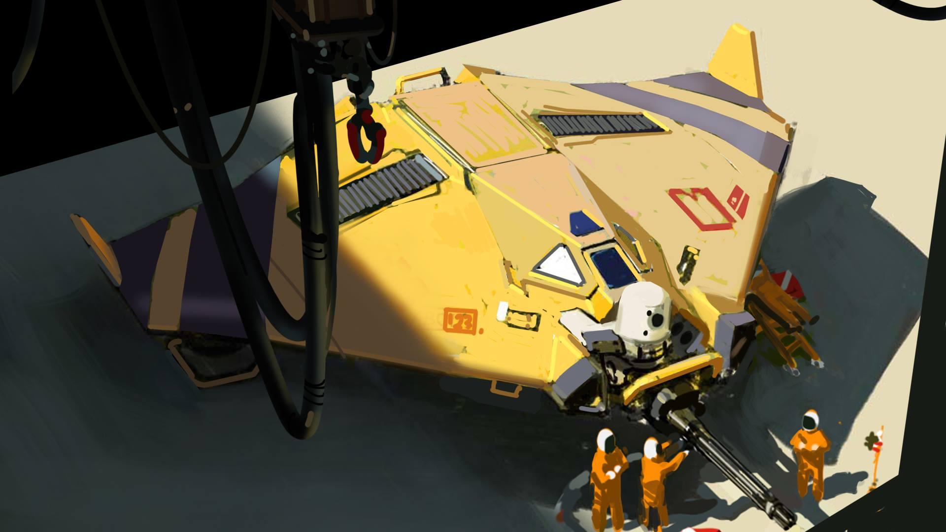 Drone - Deserts of Kharak - Concept Art - BBI