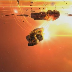 Homeworld Remastered PAX Australia 2014 - Turanic Raiders Missile Corvette