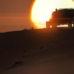 Light Attack Vehicle Sunset - Deserts of Kharak - Concept Art