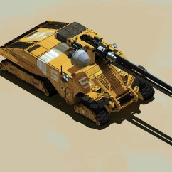 Tank - Deserts of Kharak - Concept Art - BBI