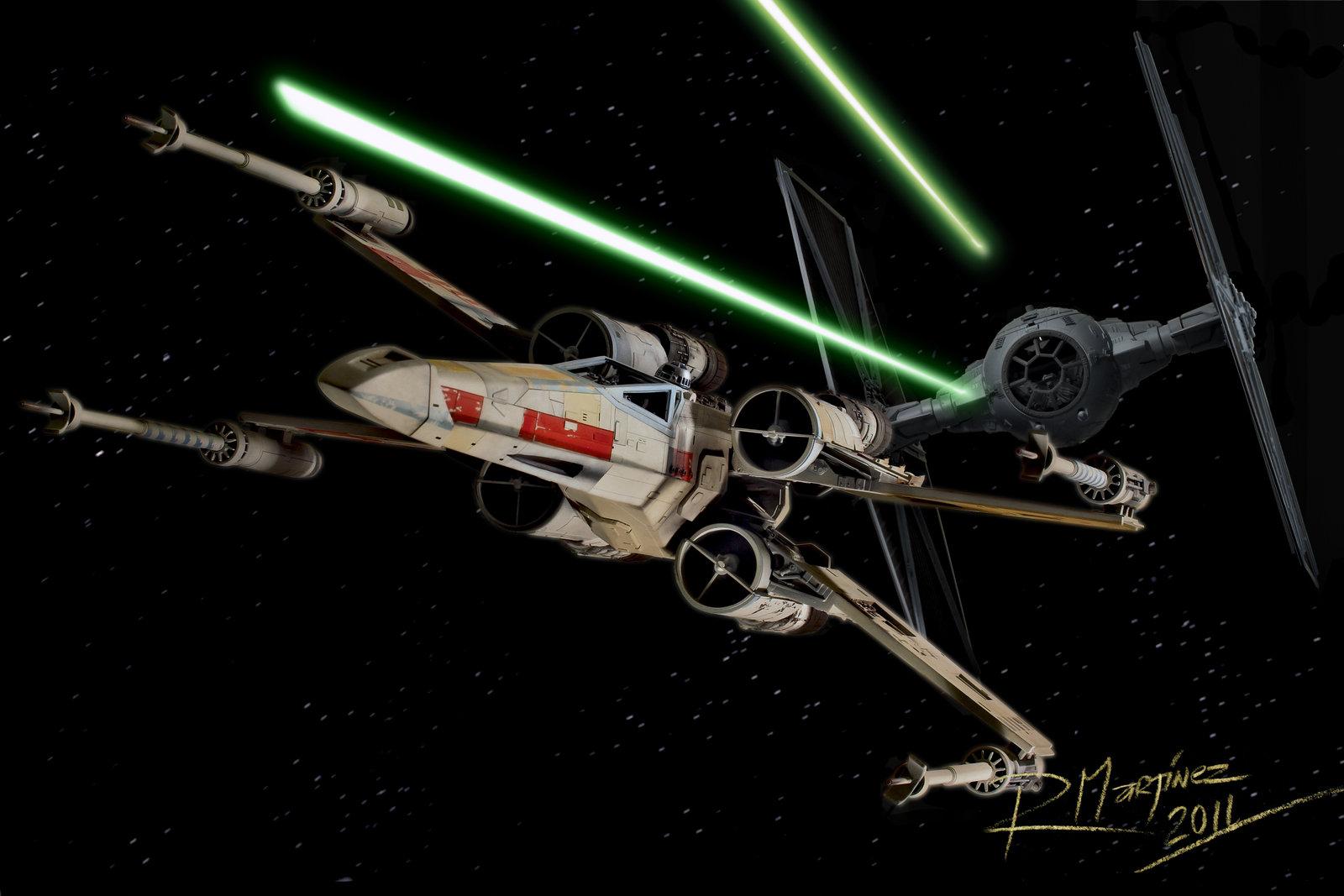 real life star wars battle