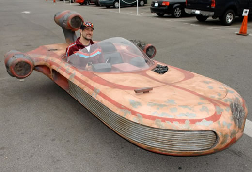 real life star wars landspeeder-replica