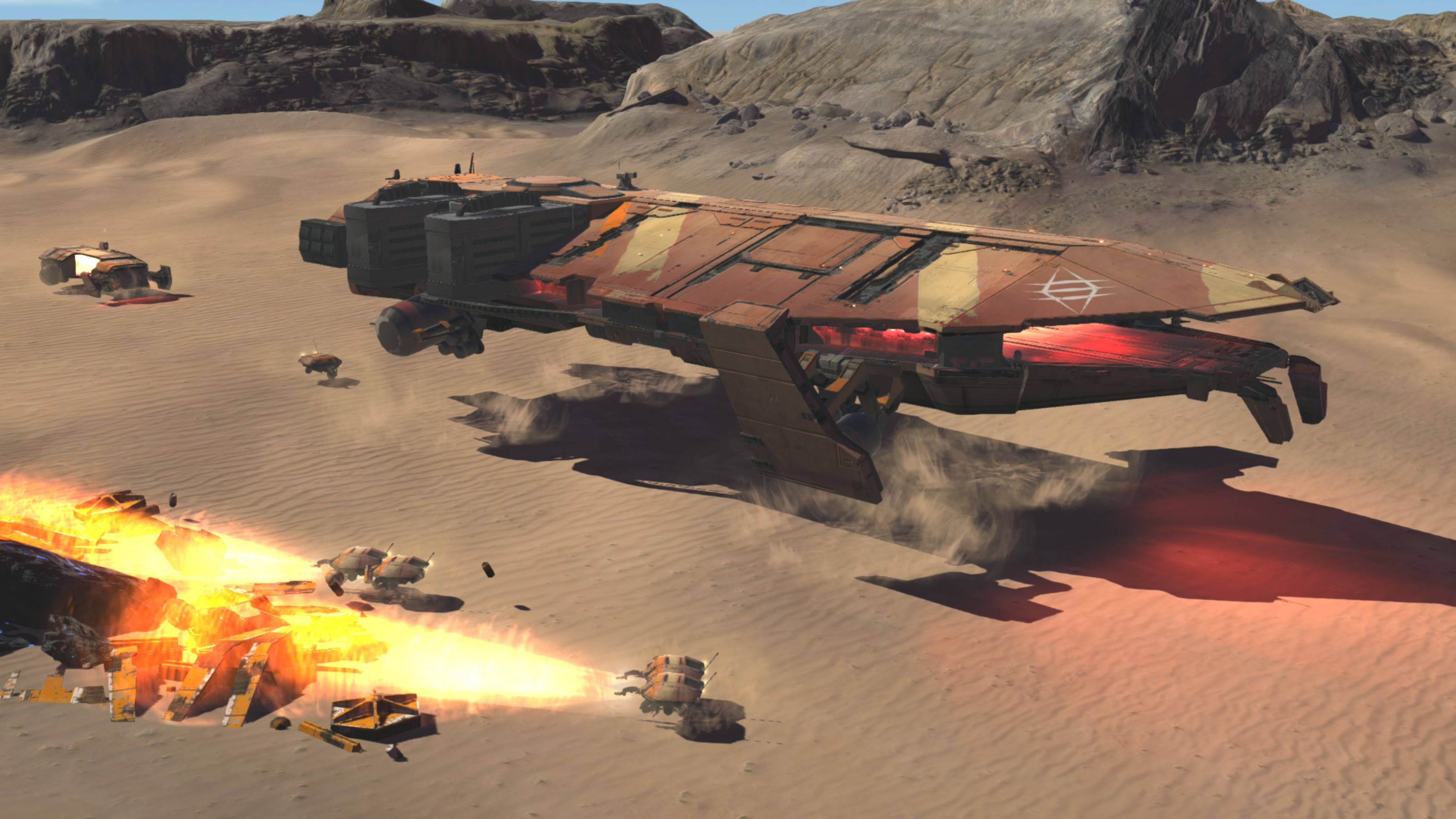 Homeworld Deserts of Kharak Khaaneph Fleet Pack - Carrier