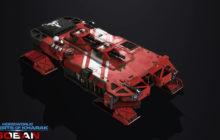 Homeworld Deserts of Kharak - Soban Battlecruiser Render - Stephen Mokrytzki - Compressed
