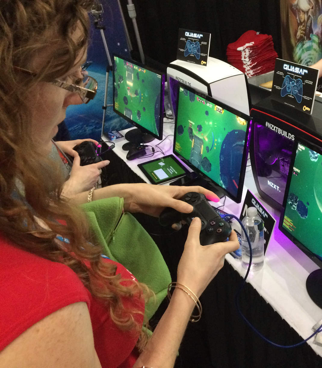 Merritt Playing Quasar