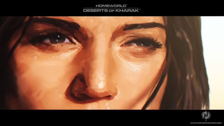 Homeworld Deserts of Kharak Wallpaper - Fists of Heaven - 1