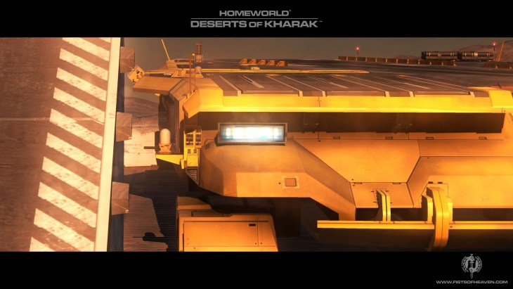 Homeworld Deserts of Kharak Wallpaper - Fists of Heaven - 4