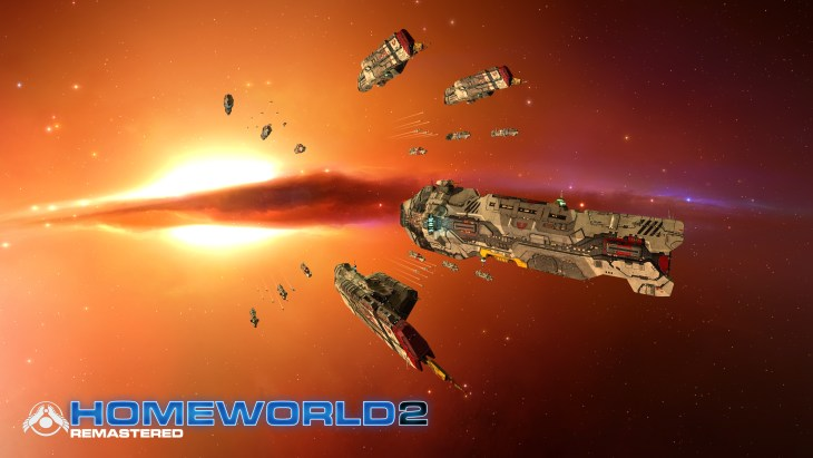 Homeworld Remastered - Screenshot - Vaygr Fleet - Gearbox