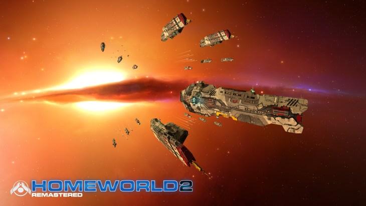 Homeworld Remastered - Screenshot - Vaygr Fleet - Gearbox