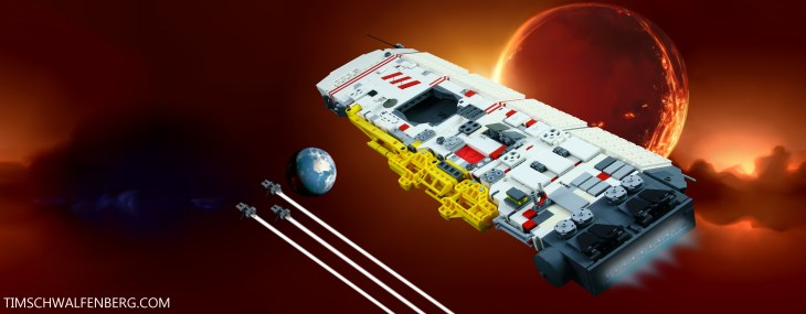 Lego Vaygr Carrier 2 - Tim Schwalfenberg