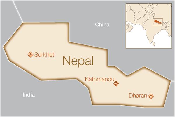 MAP-nepal