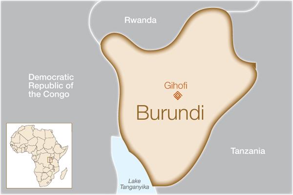 Burundi Where We Help Fistula Foundation - Where is burundi
