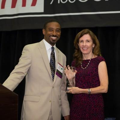 Kate Grant Peter Barber AMA/AMAF Award