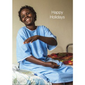 The cover features a recovering fistula patient from Kenya.