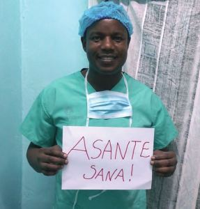 "A big ""asante sana!"" (""thank you very much!"" in Swahili) from Dr. Mabeya to everyone for making this campaign a success"