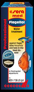 Sera Flagellol 25 ml, reikätautiin, samettitautiin, yksisoluisiin siimaeliöihin