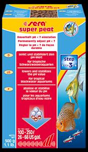 Sera Super peat 500 g turve akvaarioon