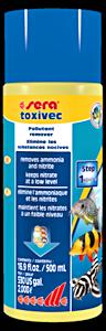 Sera toxivec, saasteiden poistaja. Poistaa ammoniakkia ja nitriittiä.