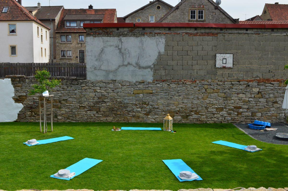 Yoga im Freien Kitzingen Ochsenfurt