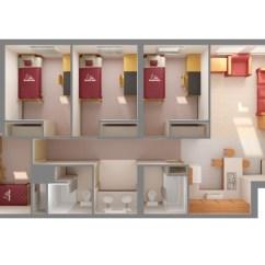 Kitchen Double Sink Countertops Options Columbia Village Apartments | Florida Tech