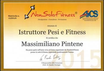 Istruttore di Pesi e Fitness