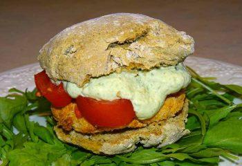 Hamburger di Salmone Ricetta Fit4Best