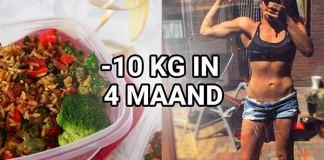 10 kilo binnen 4 maand