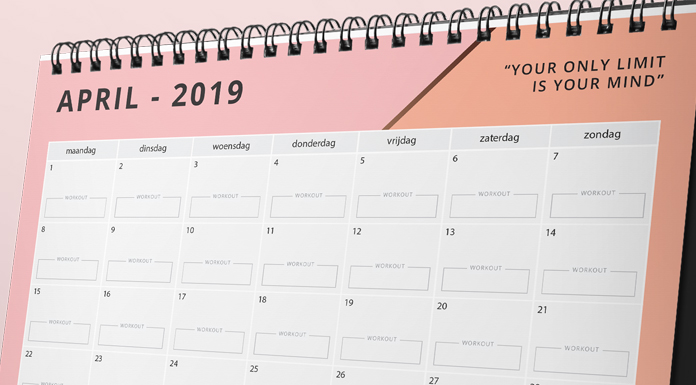 motivatie kalender april