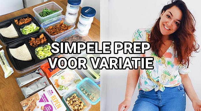 meal prep variatie losse ingredienten