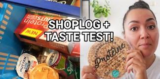 shoplog taste test