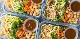 Gezonde vegetarische meal prep inspiratie