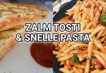 zalm tosti