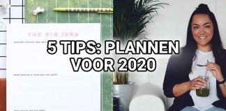 Plannen voor 2020