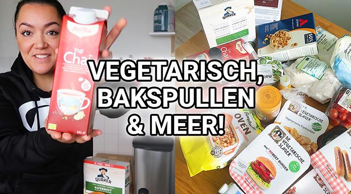shoplog boodschappen vegetarisch