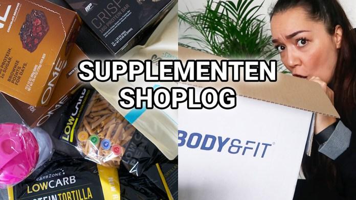 supplementen shoplog