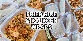 fried rice met garnalen