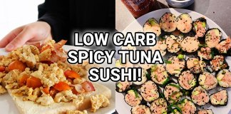 gezonde spicy tuna sushi