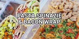 gezonde spinazie pasta