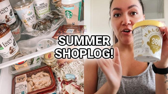 zomer boodschappen shoplog
