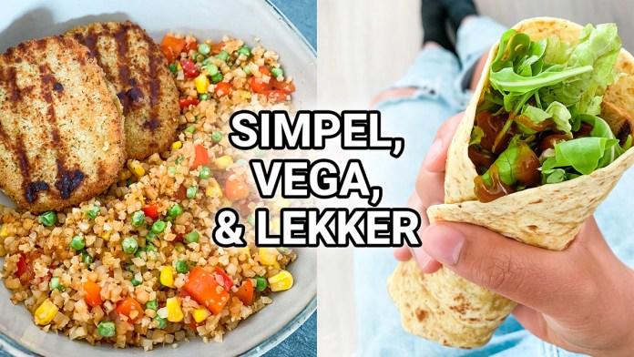 vegetarische maaltijd inspiratie