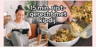 snel rijst gerecht